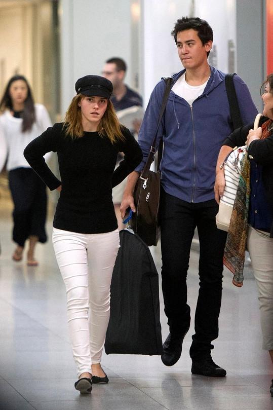 Emma Watson s přítelem Willem
