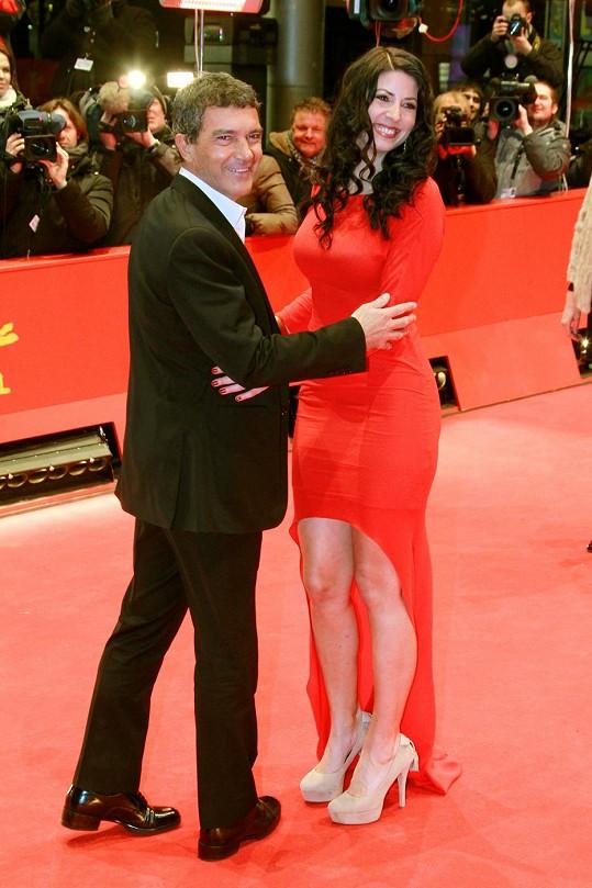 Krásná Natascha Berg prý svedla Antonia Banderase.