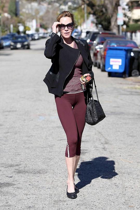 Melanie Griffith přiznala, že je zapálená do cvičení.