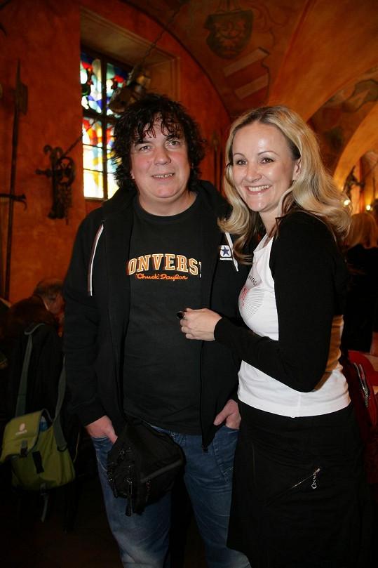 Richard Genzer s manželkou Lindou Finkovou.
