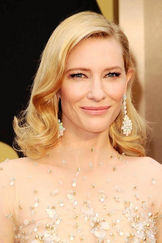 Cate Blanchett letos získala Oscara.