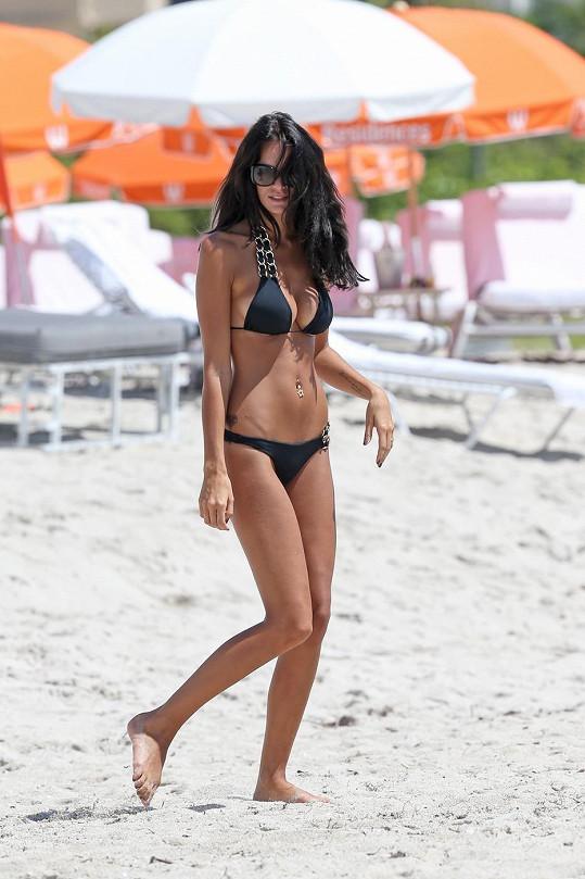 Jade Lagardère tráví slunečné dny na Miami Beach.