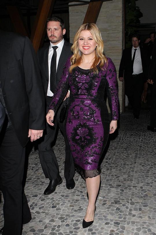 Kelly Clarkson s partnerem