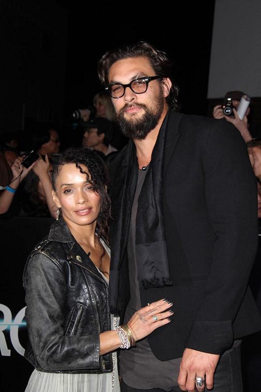 Herec s manželkou Lisou Bonet