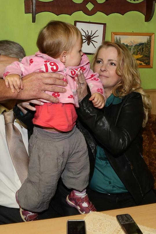 Iveta má k dětem hezký vztah.