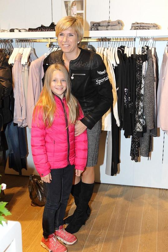 Kateřina Neumannová je na svou dceru pyšná.