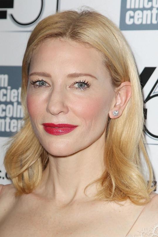 Vždy krásná Cate Blanchett