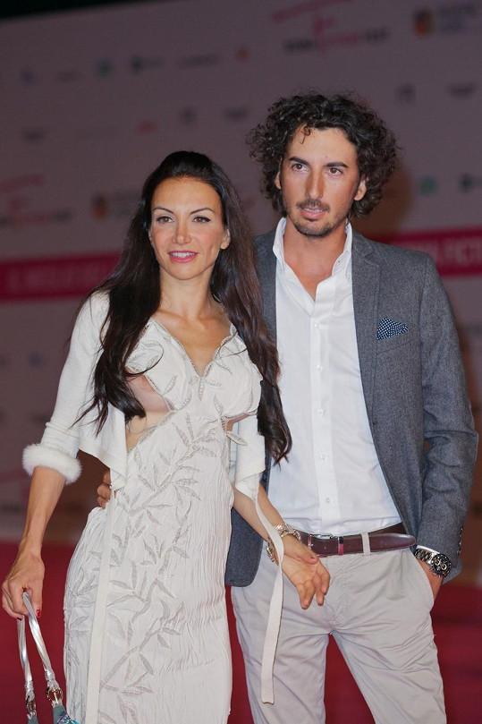 Alessandra Barzaghi s přítelem Andreou Venturinim