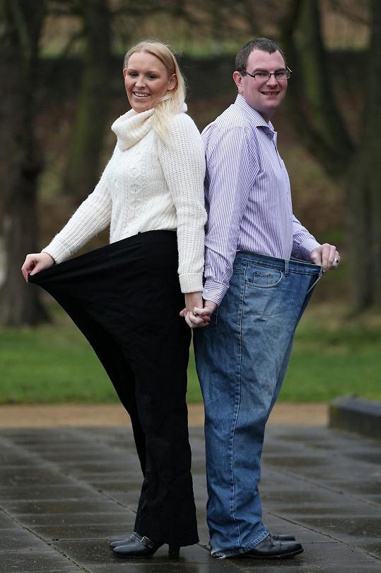 Natalie Middleton a Scott Fiskel po společné dietě