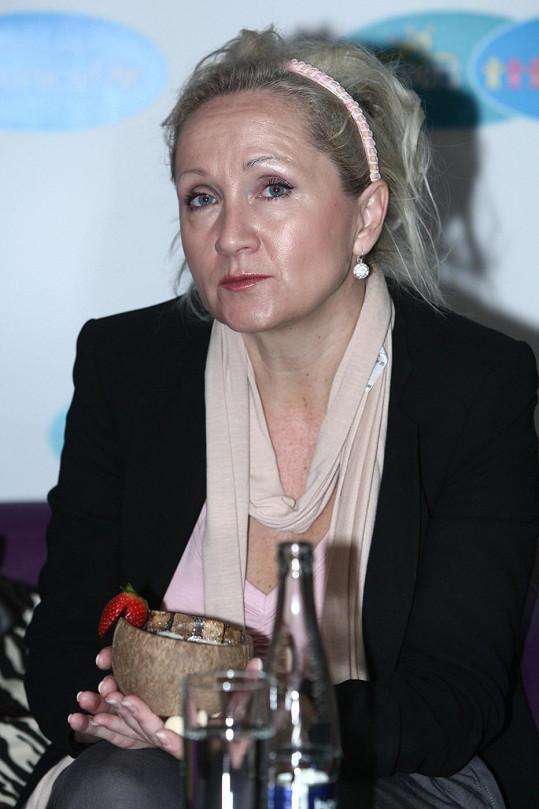 Bára Basiková roku 2010.