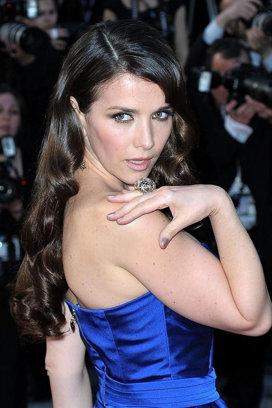 Natalia v Cannes v roce 2012