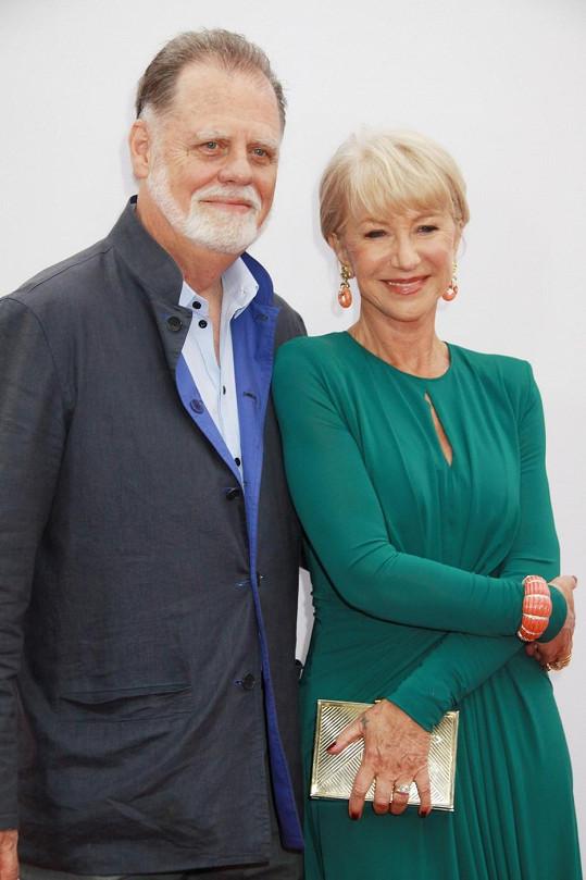 Mirren a její manžel Taylor Hackford