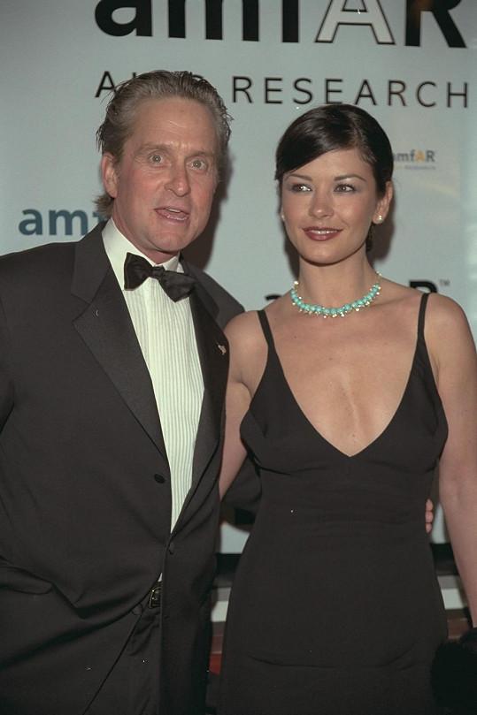 Herecký pár rok před svatbou (prosinec 1999).