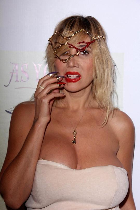 Neúspěšná zpěvačka se prezentuje jako herečky z filmů pro dospělé.