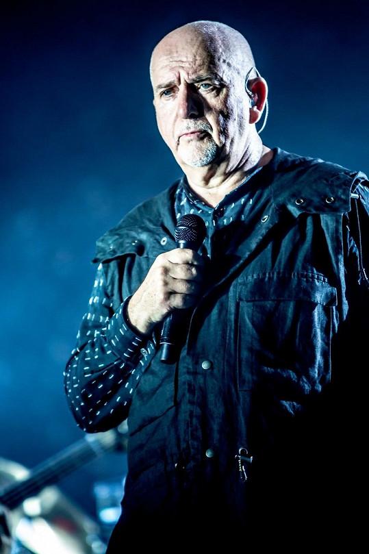 Bývalý frontman skupiny Genesis během evropského turné