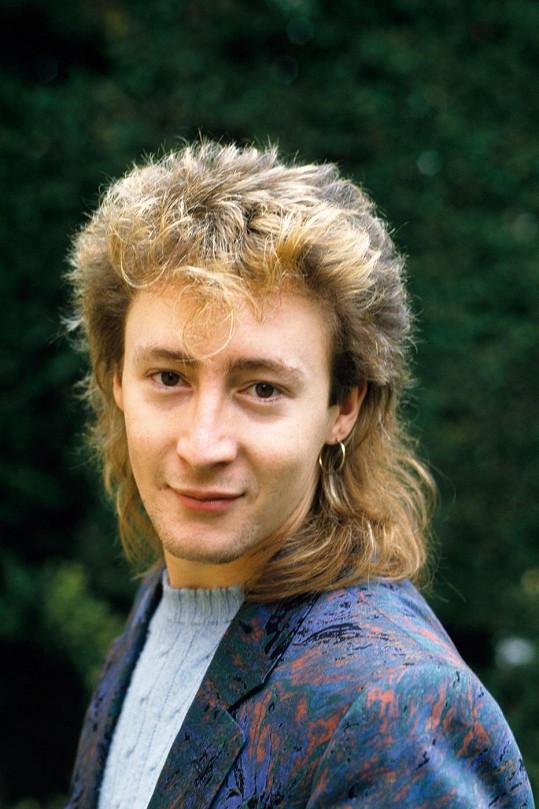 Julian Lennon na archivním snímku