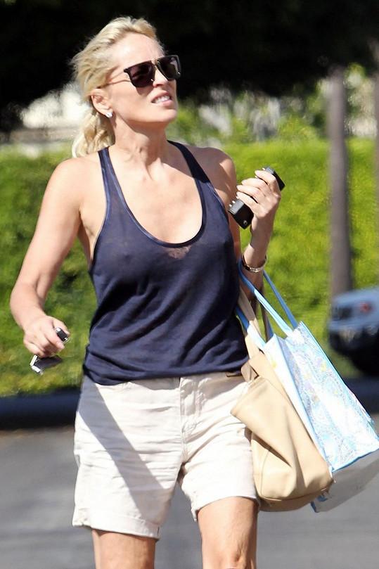 Sharon Stone (55) ráda provokuje.