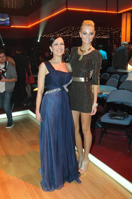 V taneční soutěži se potkaly dvě krásné Terezy.