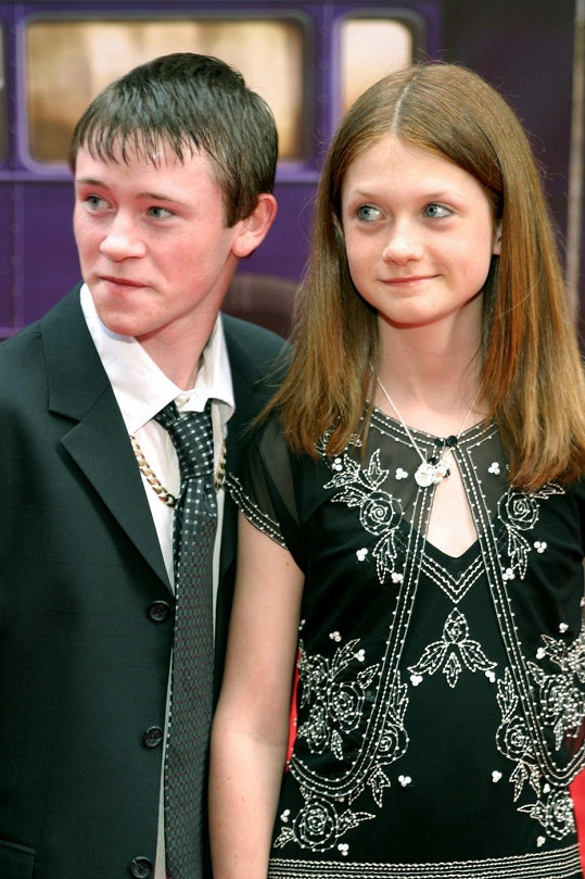 Bonnie Wright s hereckým kolegou