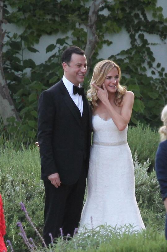 Jimmy Kimmel a Molly McNearney