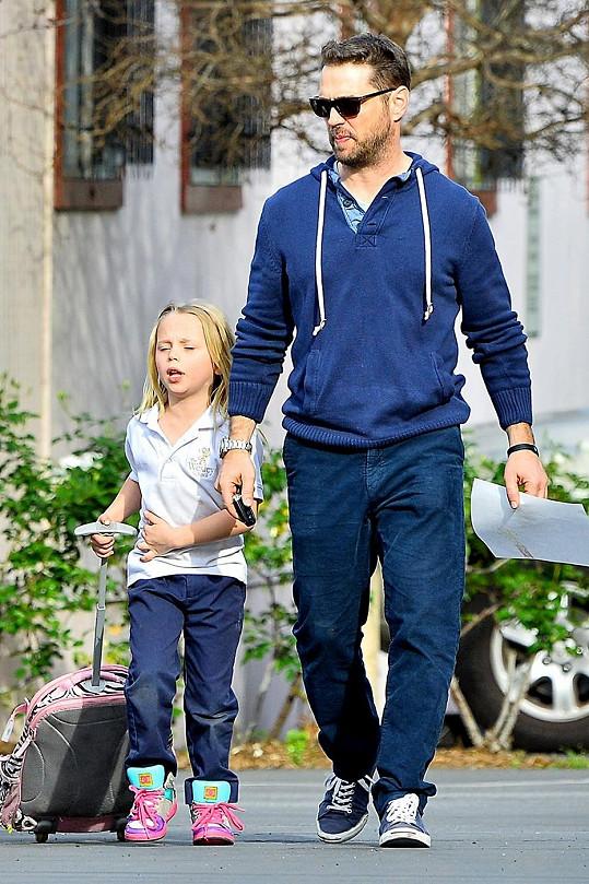 Jason Priestley a jeho dcera Ava