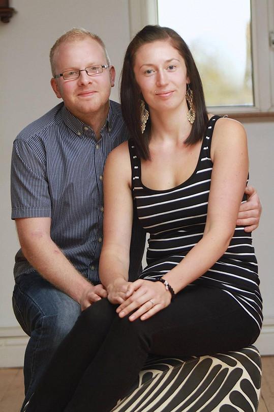 Hazel s manželem Michaelem.