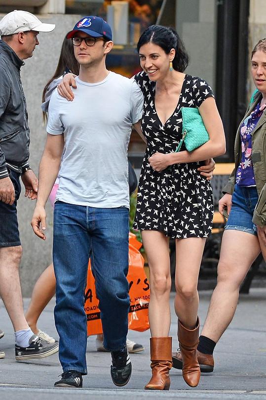 Joseph Gordon-Levitt s manželkou Tashou McCaule