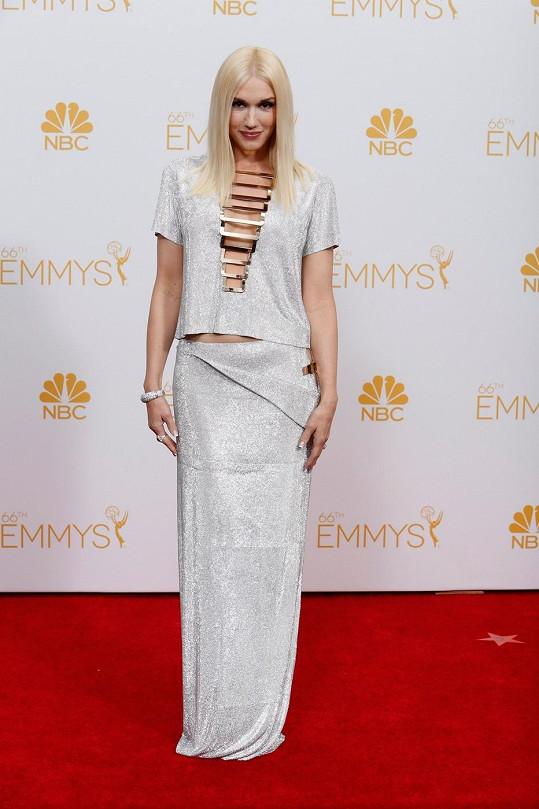 Takhle letos v srpnu zazářila na udílení cen Emmy.