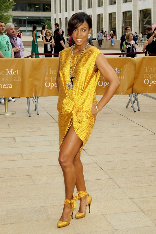 Kelly Rowland na American Ballet Theatre Spring Gala