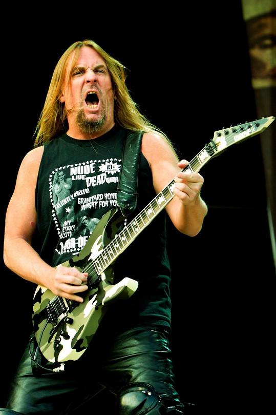 Hanneman byl nedílnou součástí kapely Slayer.