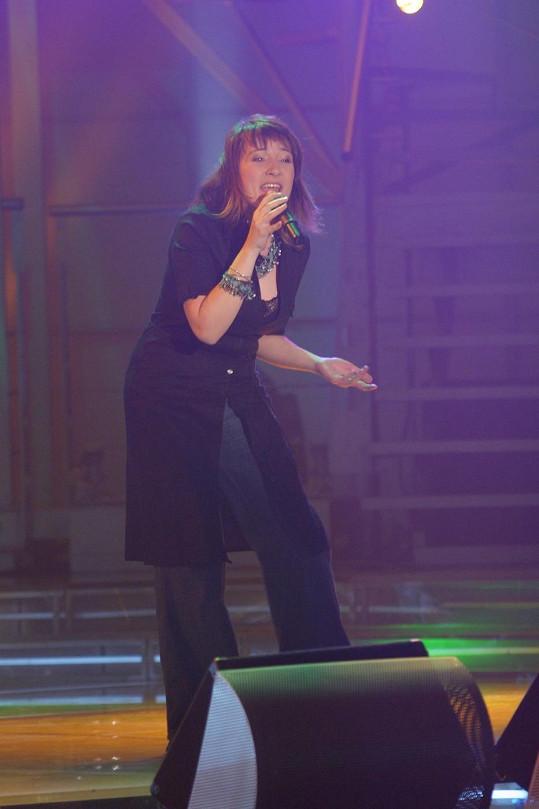 Katarína Koščová v době, kdy se stala první slovenskou SuperStar.