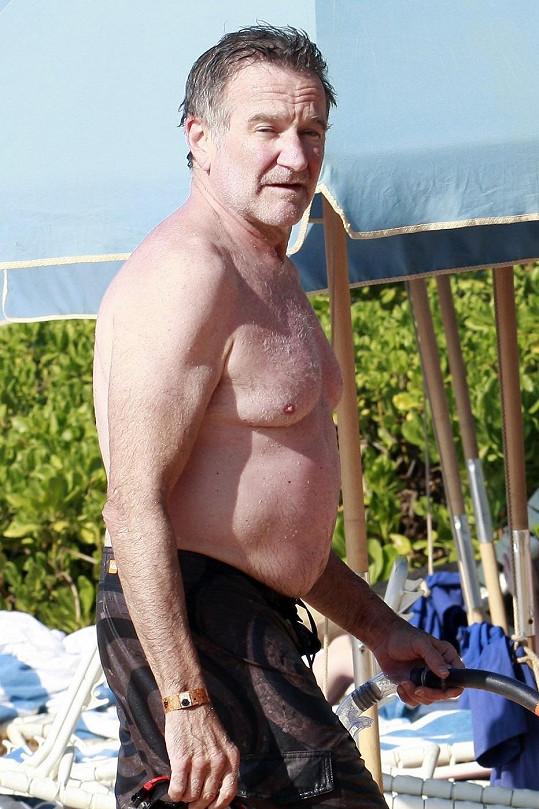 Robin Williams odjel odpočívat na Havaj.