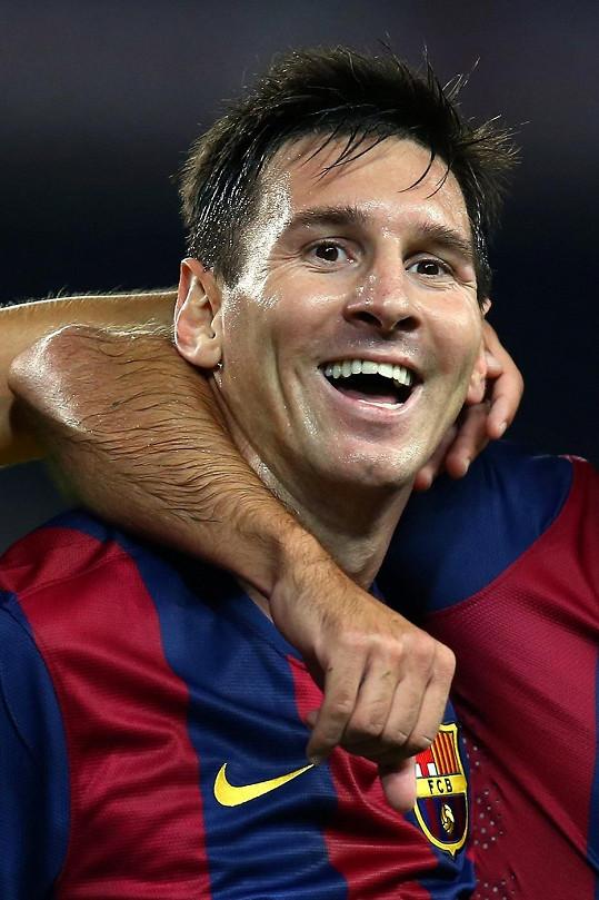 I Argentinec a hvězda Barcelony Lionel Messi má něco do sebe.