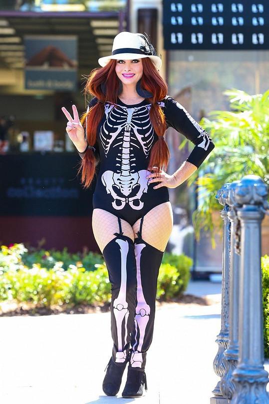 Halloweenský obleček na ulici?