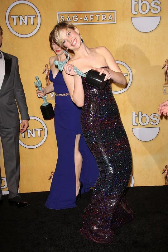Jennifer Lawrence se dočkala ceny SAG díky obsazení ve filmu Špinavý trik.