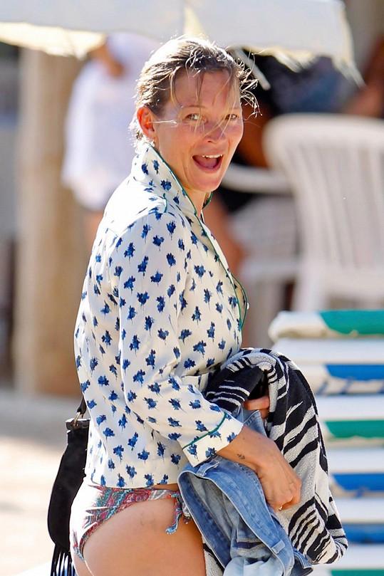 Kate Moss je žena mnoha tváří.