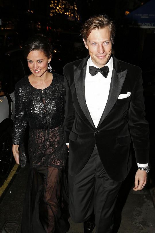 Pippa Middleton a Nico Jackson se mají brát v průběhu příštího roku.
