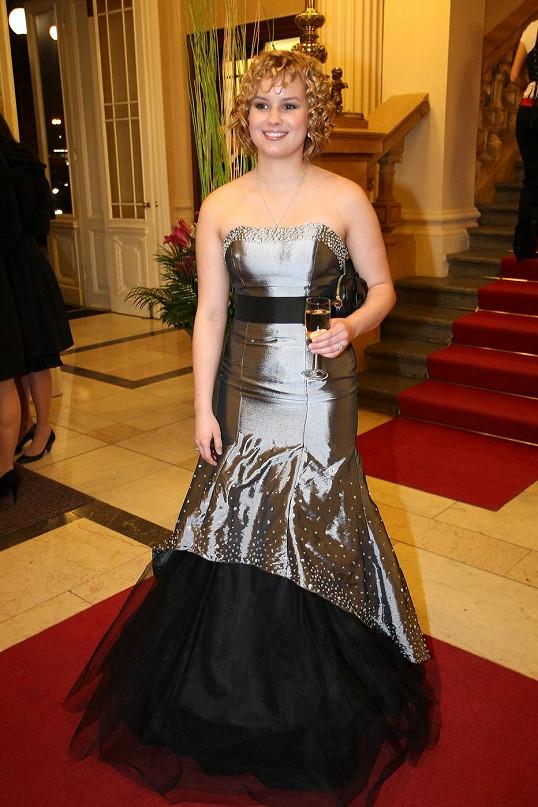 Patricie Solaříková změnila roku 2011 účes.