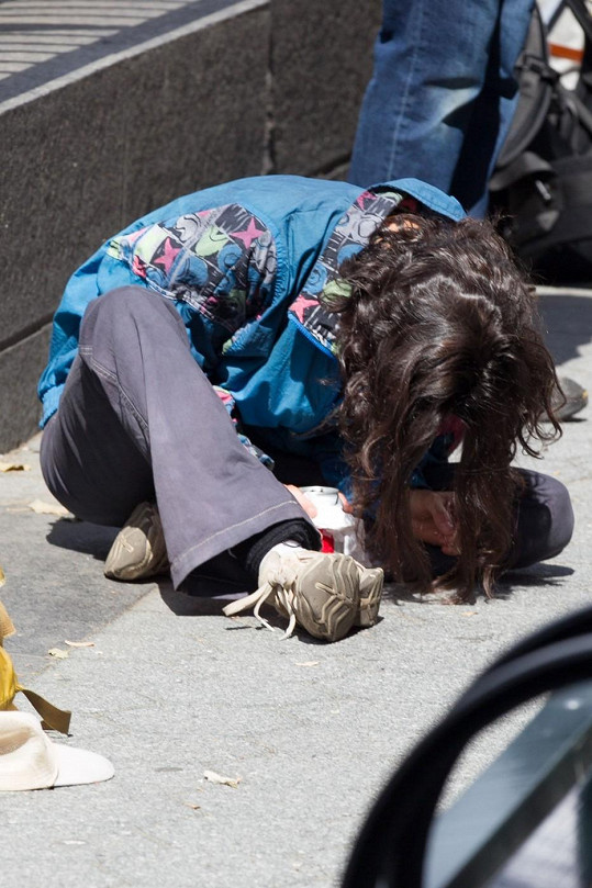 Jennifer Connelly jako bezdomovkyně