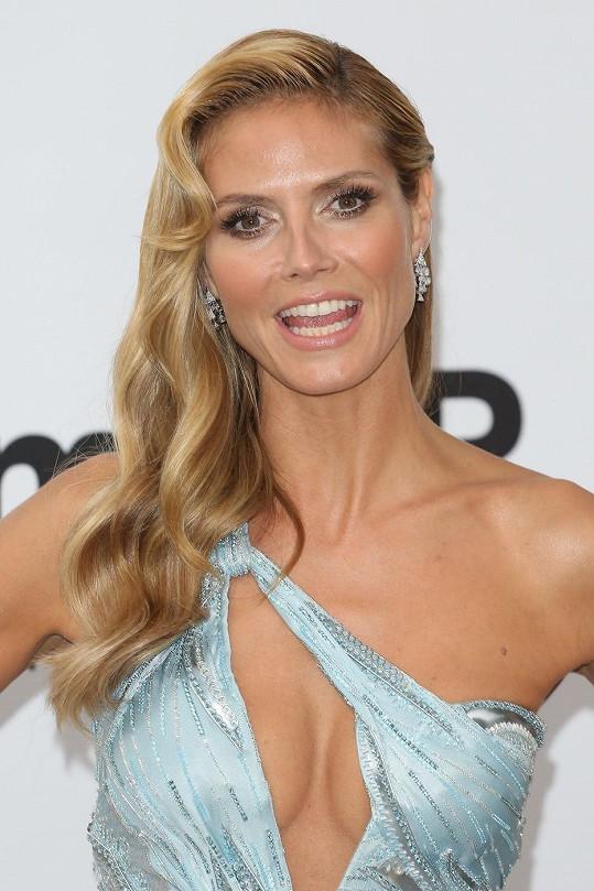 Heidi Klum nikdy nezklame.