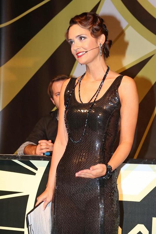 Daniela Písařovicová oblékla odvážné sexy šaty.