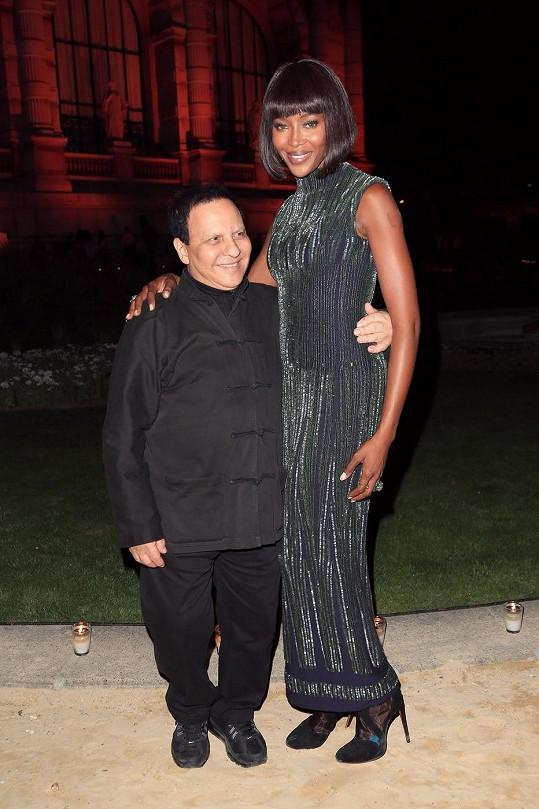 Naomi Campbell se stylistou hvězd Alaiou