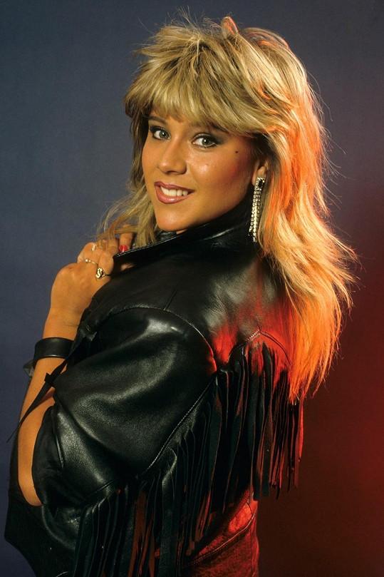 Samantha na snímku z roku 1985.