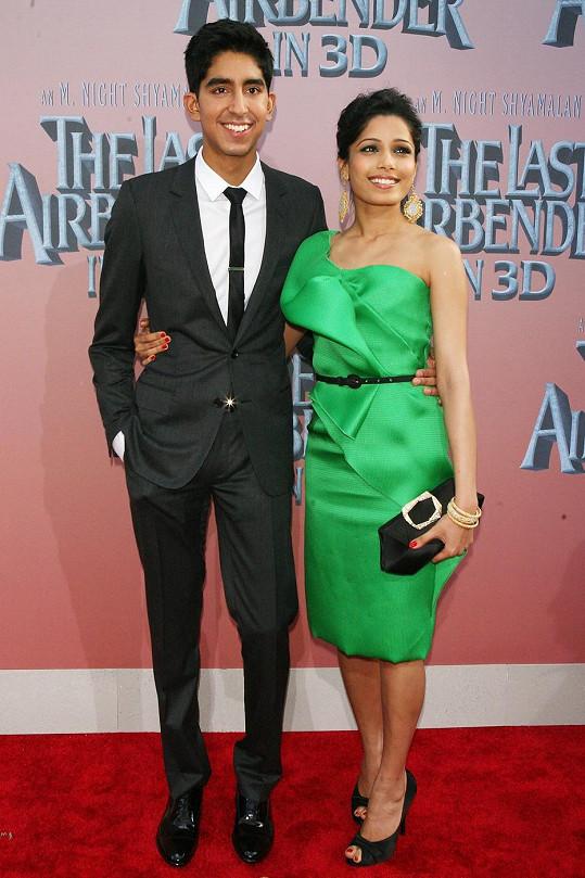 Freida Pinto a Dev Patel se zamilovali při natáčení Milionáře z chatrče a vydrželo jim to šest let.