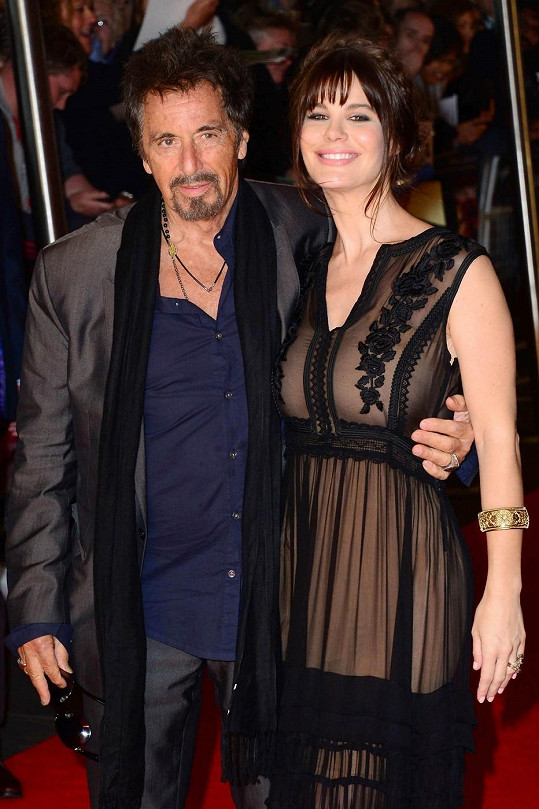 Argentinská herečka Lucila Solá se s Pacinem objevila ve snímku Wilde Salome.