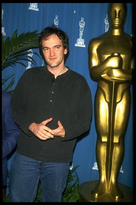 Takhle Quentin vypadal před 20 lety.