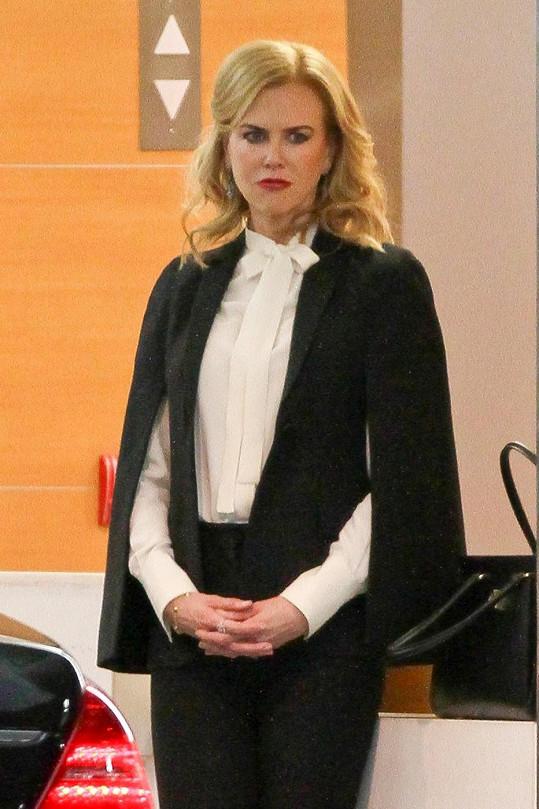 Na obřad dorazila i Nicole Kidman.