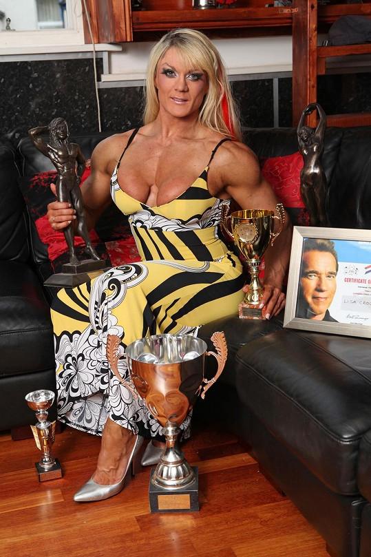 Lisa Cross touží po titulu Miss Olympia.