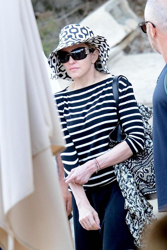 Madonna upřednostnila pohodlí.