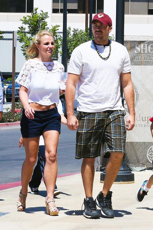 Britney Spears a David Lucado